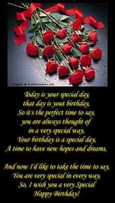 My Birthday Wish 4 U