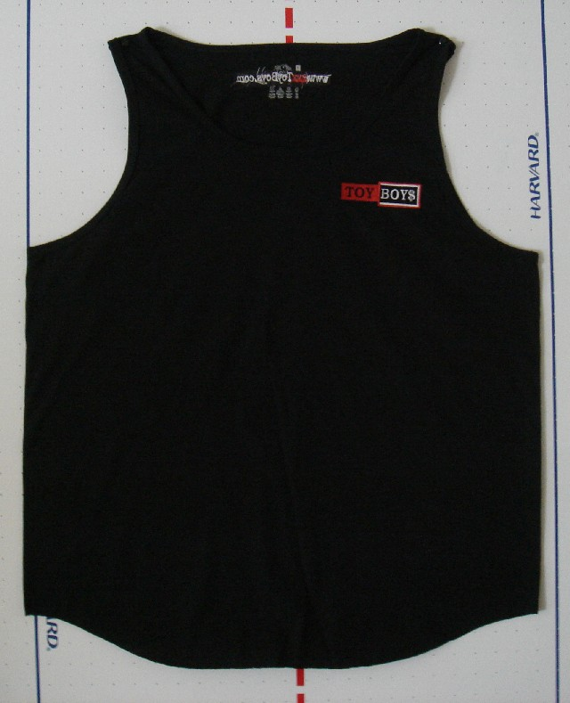 TOY BOYS - TANK TOP - BLACK