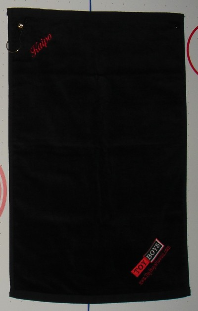 TOY BOYS - GYM TOWELS - BLACK